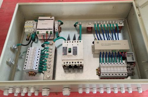 光伏配电柜接线图